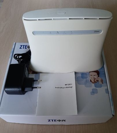 Router modem wifi na karte SIM 150Mb/s 4G LTE ZTE MF283+