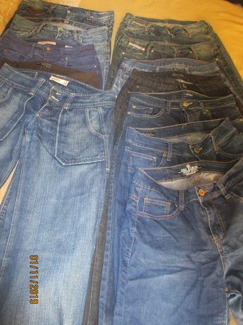 12 calças de ganga para menina ou senhora de várias marcas