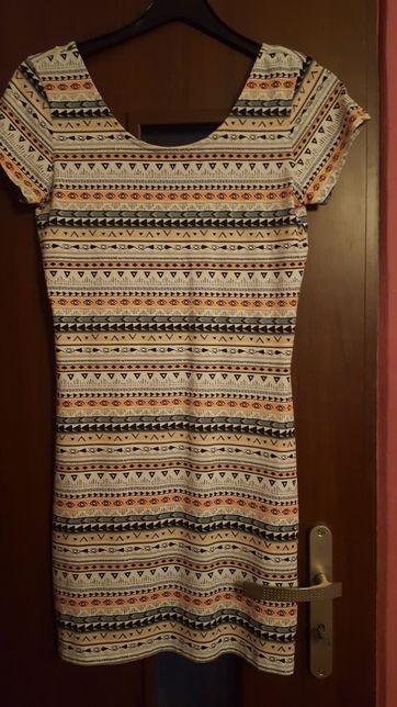 Sukienka XL bawełna