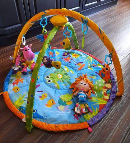 Sprzedam matę LAMAZE pond symphony motion gym plus 2 zabawki LAMAZE.