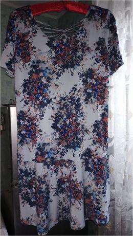 Стрейчевое платье р. 46