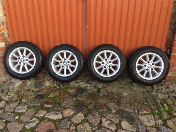 "Oryginalne alufelgi z oponami letnimi BMW serii 3 E36 E46 15"""