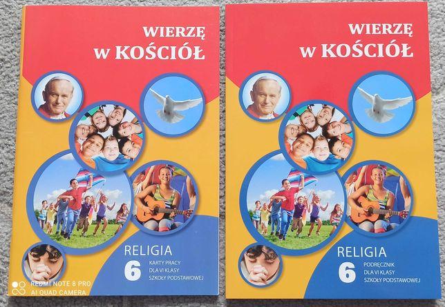 NOWE Waldemar Janiga Wierzę w Kościół  kl.6 podręcznik i karty pracy