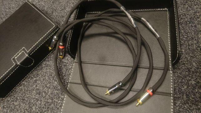 TA Kable II Gemini interkonekt stereo RCA 2x 1m Trans Audio Hi-Fi Wroc