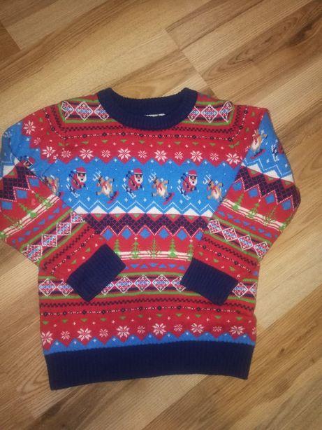Новогодний  Рождественский свитер фирмы TU