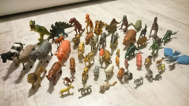 Zabawki zestaw zwierząt 53 sztuki