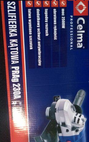 Szlifierka Kątowa PRAg 230 CELMA Profesional 2500 W