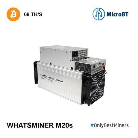 Koparka kryptowalut MicroBT Whatsminer M20S 68 TH/s Bitcoin