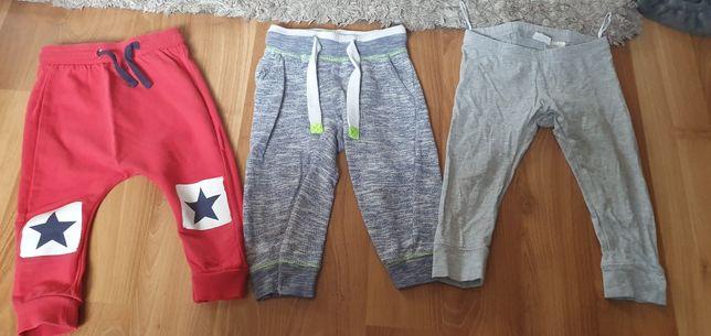 3 pary spodni 80 rozmiar