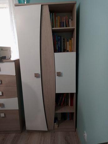 2 szafy i slupek z szufladami do pokoju