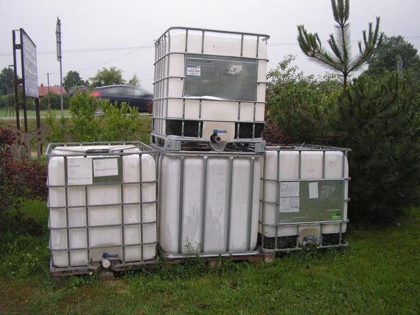 zbiorniki 1000.l deszczówka paliwo szambo