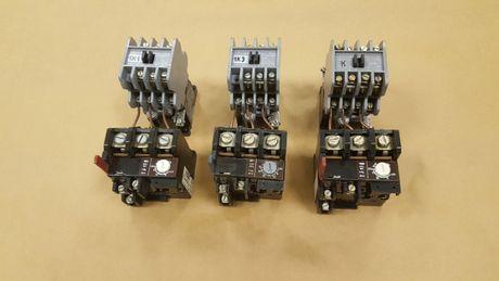 Stycznik SLA7-II + przekaźnik termiczny TSA45P - 3 kpl