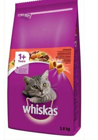 Корм для котов WHISKAS 3,8 кг.