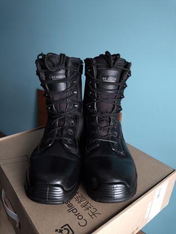 Buty Militarne Bennon Rozm 46 wkładka 31 czarne.
