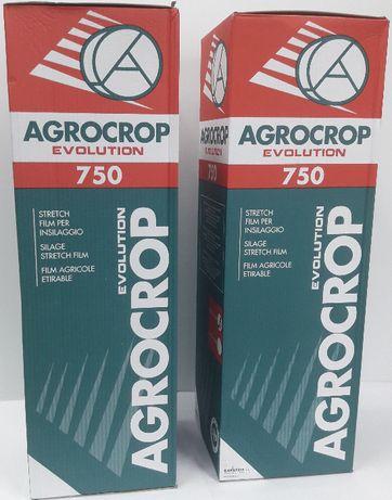Folia AGROCROP 750 czarna - folia rolnicza do sianokiszonek, bel.