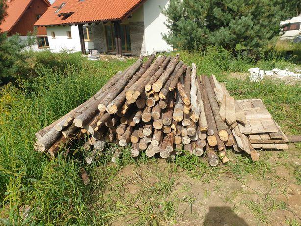 Sprzedam stemple  budowlane  drewniane