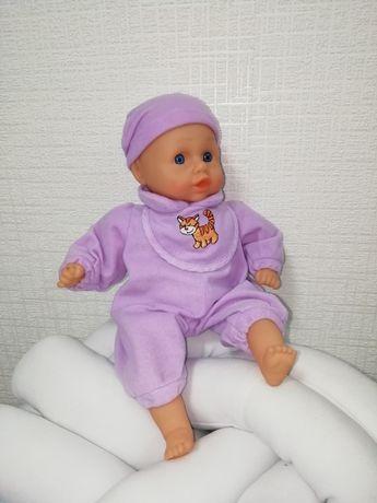 Пупс, кукла мягкотелая, говорящая