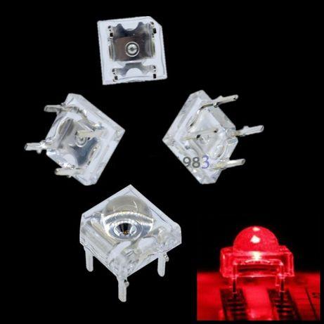 Светодиоды Пиранья Piranha красные светодиод красный 30шт