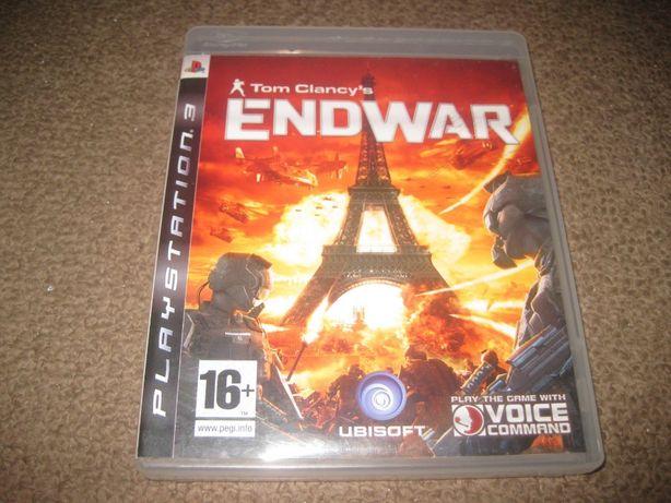 """Jogo """"Tom Clancy`s- Endwar"""" PS3/Completo!"""