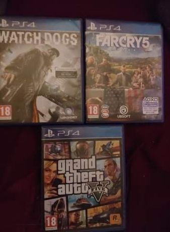 Watchdogs    Gta 5     Farcry5