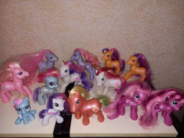 My little poni.  Прекрасные поняшки с личным транспортом