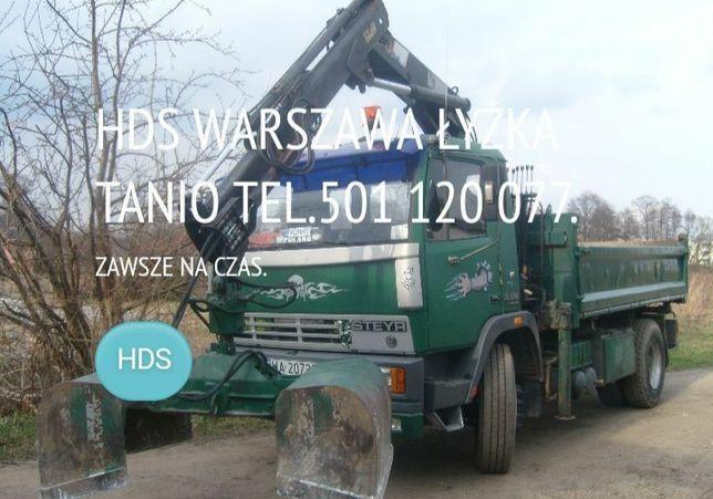 Usługi HDS Warszawa tanio