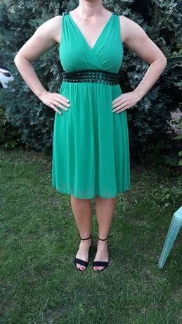 Sukienka roz 40.zielona