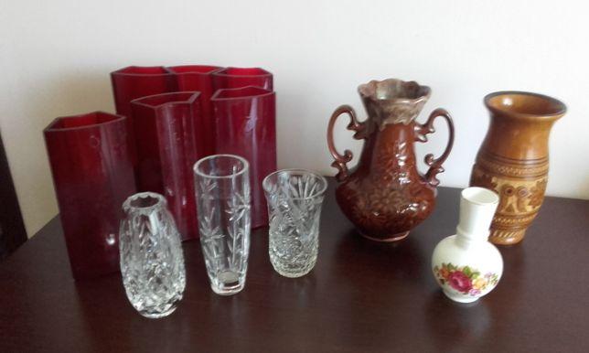 wazony wazoniki kryształ ceramika porcelana szkło