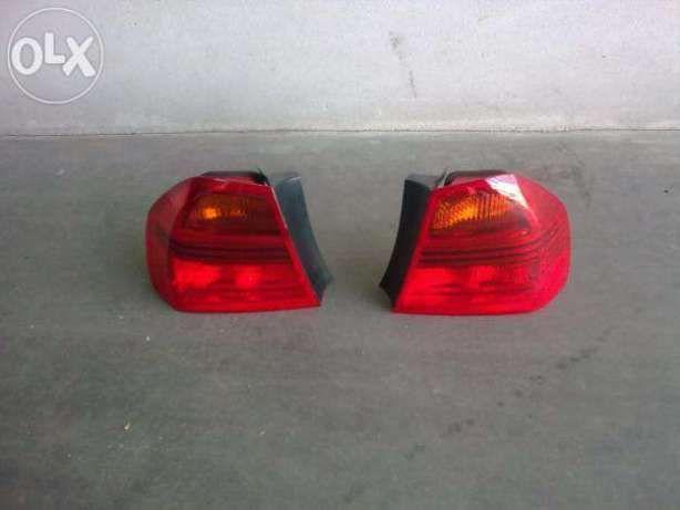 Farolins de stop BMW 320D E90 como novos