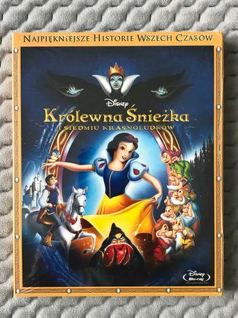 """""""Królewna Śnieżka i siedmiu krasnoludków"""" - bajka Disneya - Blu-ray"""