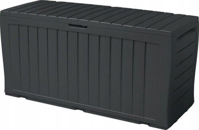 Ящик MARVEL PLUS 270л Графит, сундук, пластиковый ящик
