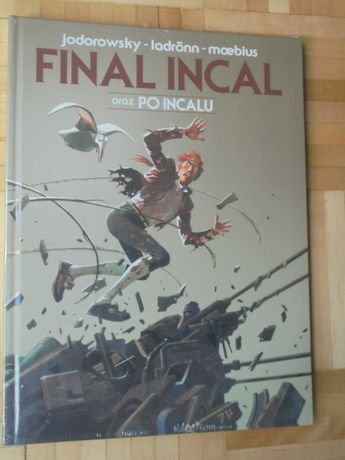 Jodorowsky -  Final Incal oraz Po Incalu. Folia! Unikat! Okazja!