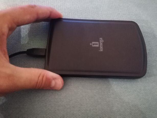 disco rígido USB 2.5'' portátil 320 GB iomega