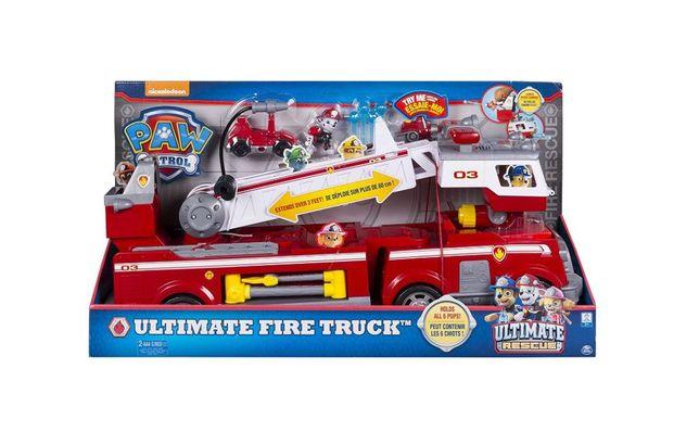 Camião Bombeiros Patrulha Pata Marshall Ultimate Rescue Fire Truck