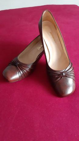 Skórzane buty ,rozmiar 41 nowe