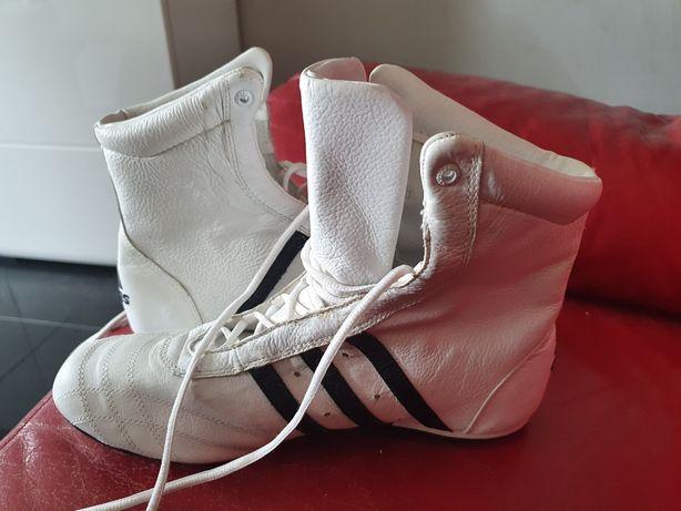 ADIDAS skórzane sneakersy do ćwiczeń r.39