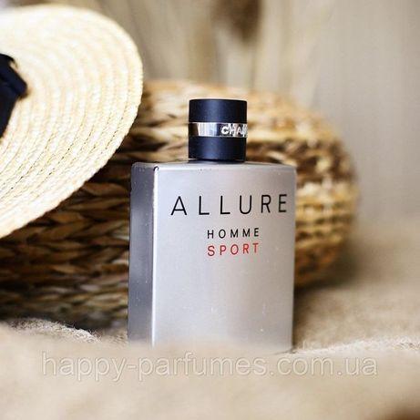 Духи Chanel Allure Homme Sport Шанель Алюр Спорт Мужской Парфюм 2=4