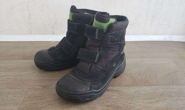 Продам зимние ботинки Ecco GORE-TEX 37 размер