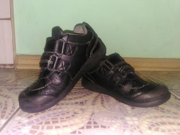 Кожаные кроссовки туфли Toe zone(Clarks)
