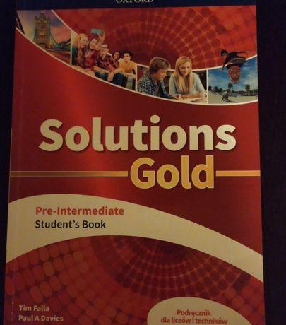 Solutions Gold pre-intermediate testy język angielski