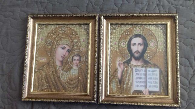 Иконы венчальные бисером религия
