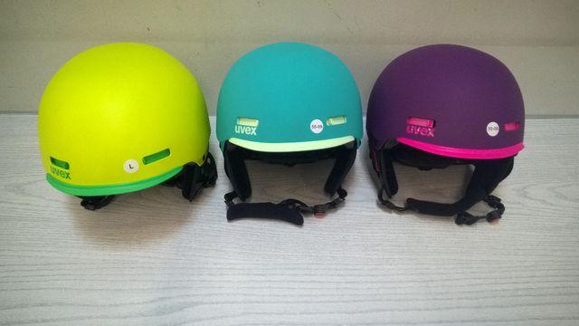 Damski/męski (unisex) kask narciarski firmy UVEX model HLMT 5 PRO.