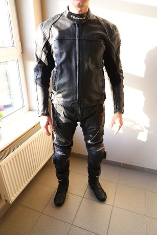 Strój kombinezon motocyklowy TSCHUL - skóra
