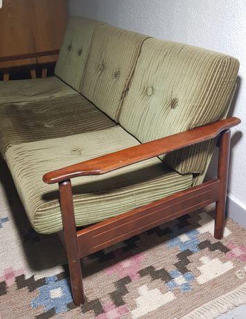 sofa Vintage lata 70 Niemcy design ddr