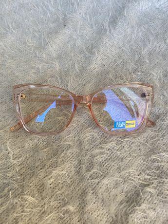 Ślicznie okulary zerówki z antyrefleksem