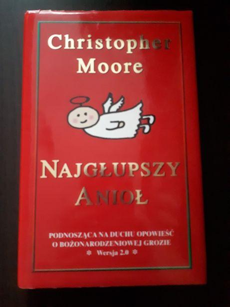 "Christopher Moore ""Najgłupszy anioł"""