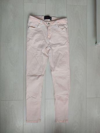 Damskie spodnie różowe - Cropp (rozmiar M/38)