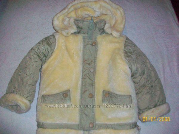 Очень теплый зимний костюм комбез