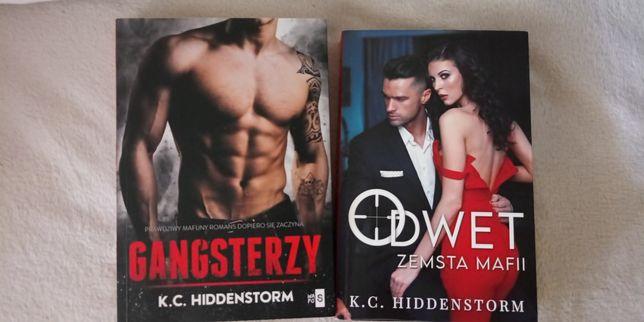 Rezerwacja Książki K.C.Hiddenstorm Gangsterzy,Odwet