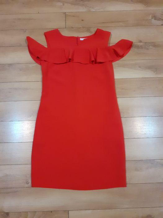 Czerwona krótka sukienka Krynica-Zdrój - image 1